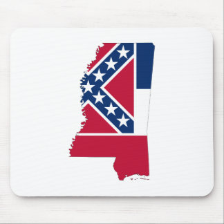 MISSISSIPPI MAP MOUSE PAD