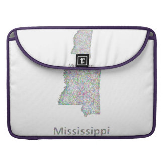 Mississippi map sleeves for MacBook pro