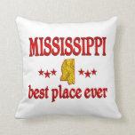 Mississippi mejor almohadas