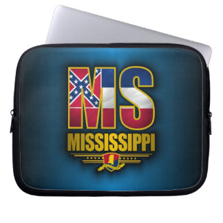 Mississippi (MS) Laptop Computer Sleeve