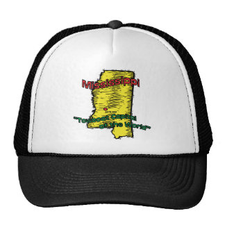 Mississippi MS Motto Towboat Capital of World Trucker Hat