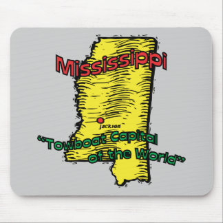 Mississippi MS  Motto ~ Towboat Capital of World Mouse Pad