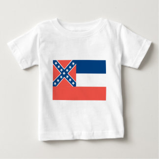 Mississippi  Official State Flag Baby T-Shirt