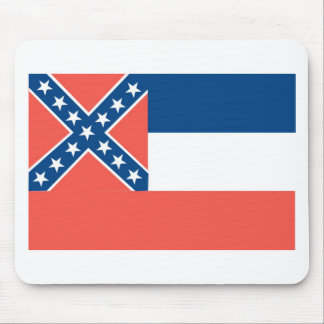 Mississippi  Official State Flag Mouse Pad