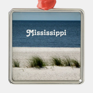 Mississippi Christmas Tree Ornament