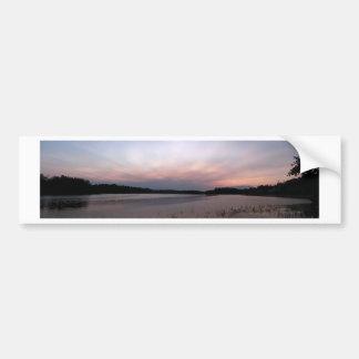 Mississippi panorama near the 63 bridge_2 bumper sticker