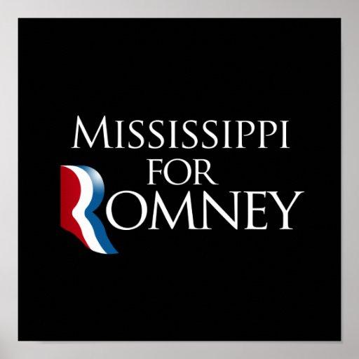 Mississippi para Romney - .png Poster