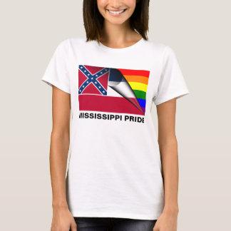 Mississippi Pride LGBT Rainbow Flag T-Shirt