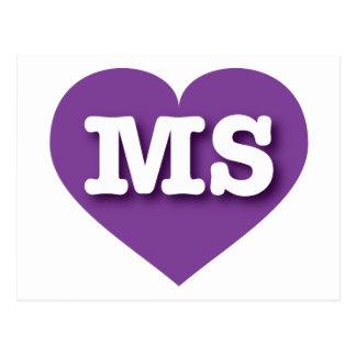 Mississippi Purple Heart - Big Love Postcard