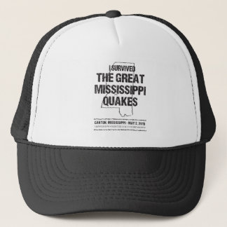 Mississippi Quakes Survivor Apparel Trucker Hat