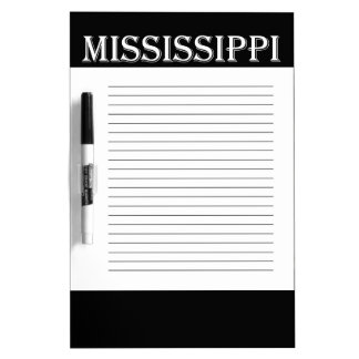 Mississippi Red Fox Dry-Erase Boards