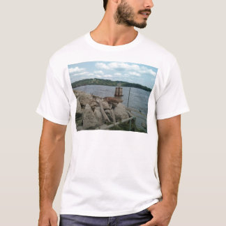 Mississippi River at Port of Dubuque T-Shirt