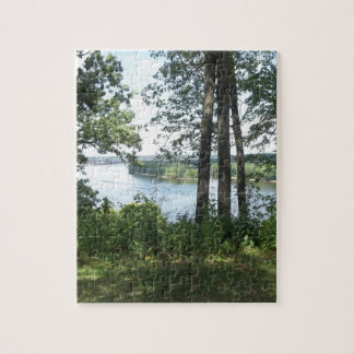 Mississippi River Bank Jigsaw Puzzle