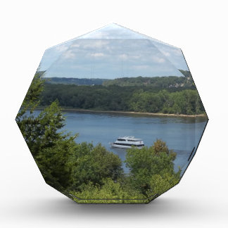 Mississippi River boat Acrylic Award