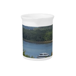 Mississippi River boat Beverage Pitcher