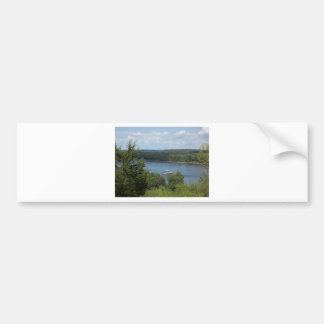 Mississippi River boat Bumper Sticker