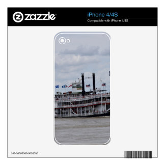 Mississippi River Boat New Orleans iPhone 4 Skins