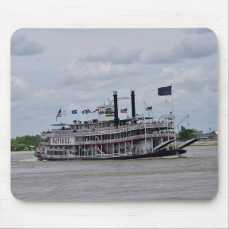 Mississippi River Boat New Orleans Mouse Pad