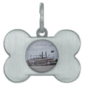 Mississippi River Boat New Orleans Pet ID Tag