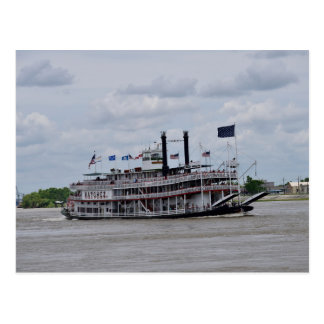 Mississippi River Boat New Orleans Postcard