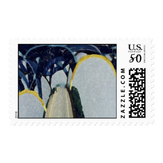 Mississippi River Bridge Postage