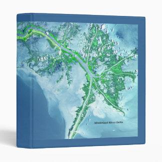 Mississippi River Delta Notebook Binder
