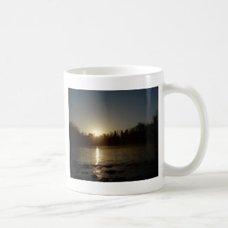 Mississippi river - Golden Sunrise Coffee Mug
