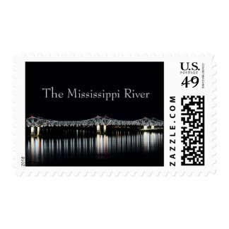 Mississippi River - Natchez Vidalia Bridge stamps