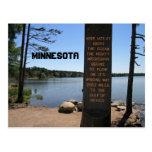 Mississippi River Source Sourvenir Postcard