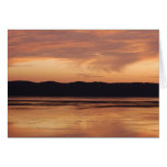 Mississippi River Sunset Greeting Cards