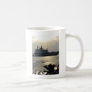 Mississippi River Sunset in Winter Coffee Mug