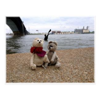 Mississippi riverfront postcard