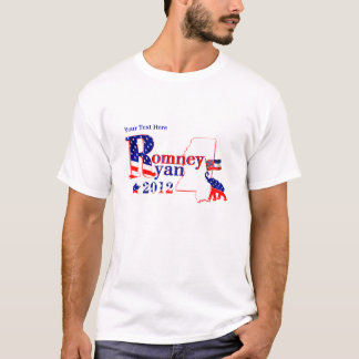 Mississippi Romney and Ryan 2012 Tee Shirt
