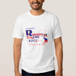 Mississippi Romney and Ryan 2012 Tee Shirt 2