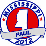Mississippi Ron Paul Acrylic Cut Out