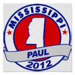 Mississippi Ron Paul Poster