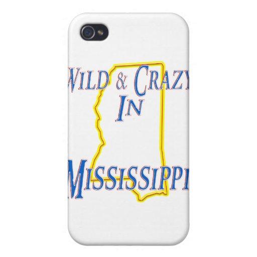 Mississippi - salvaje y loco iPhone 4 protectores
