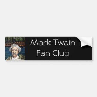 Mississippi Sam Aka Mark Twain Car Bumper Sticker