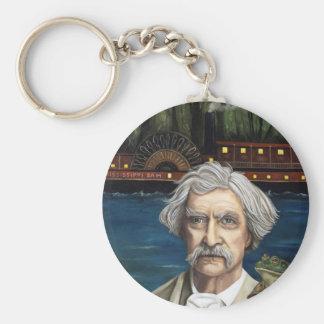 Mississippi Sam Aka Mark Twain Keychain