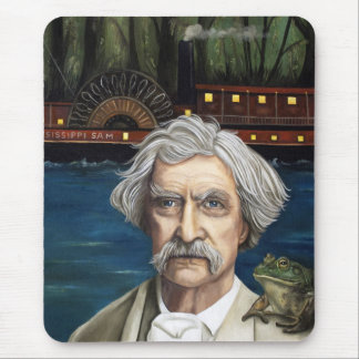 Mississippi Sam Aka Mark Twain Mouse Pad