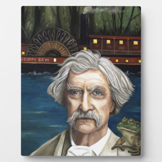 Mississippi Sam Aka Mark Twain Photo Plaque