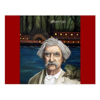 Mississippi Sam Aka Mark Twain Postal