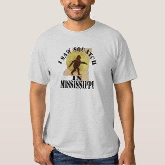 Mississippi Sasquatch Bigfoot Spotter - I Saw Him T-Shirt
