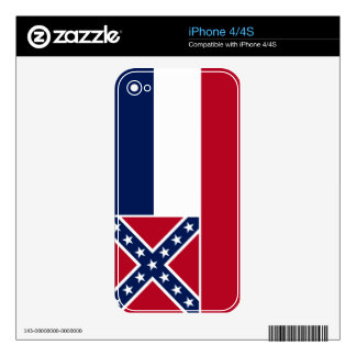 Mississippi Skins For iPhone 4S