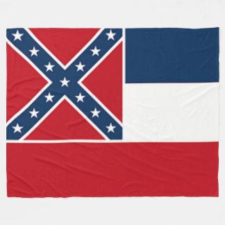 MISSISSIPPI STATE FLAG (CURRENT) FLEECE BLANKET