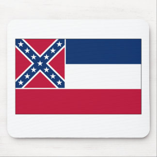 Mississippi State Flag Mouse Pad