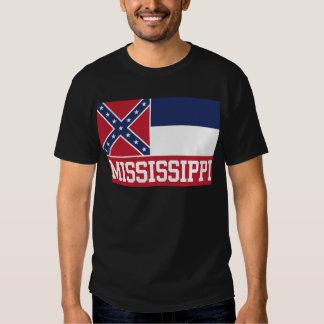 Mississippi State Flag Tee Shirt