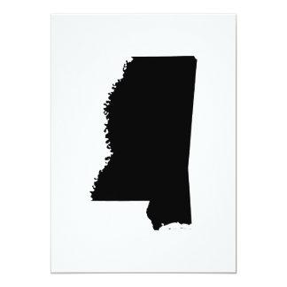 Mississippi State Outline Card