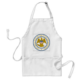 Mississippi State Seal Adult Apron