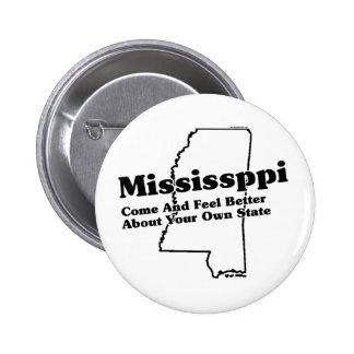 Mississippi State Slogan Pinback Button